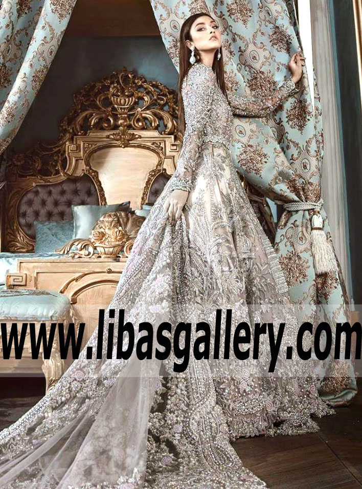 Pakistani Bridal Gown For Wedding And Reception Republic