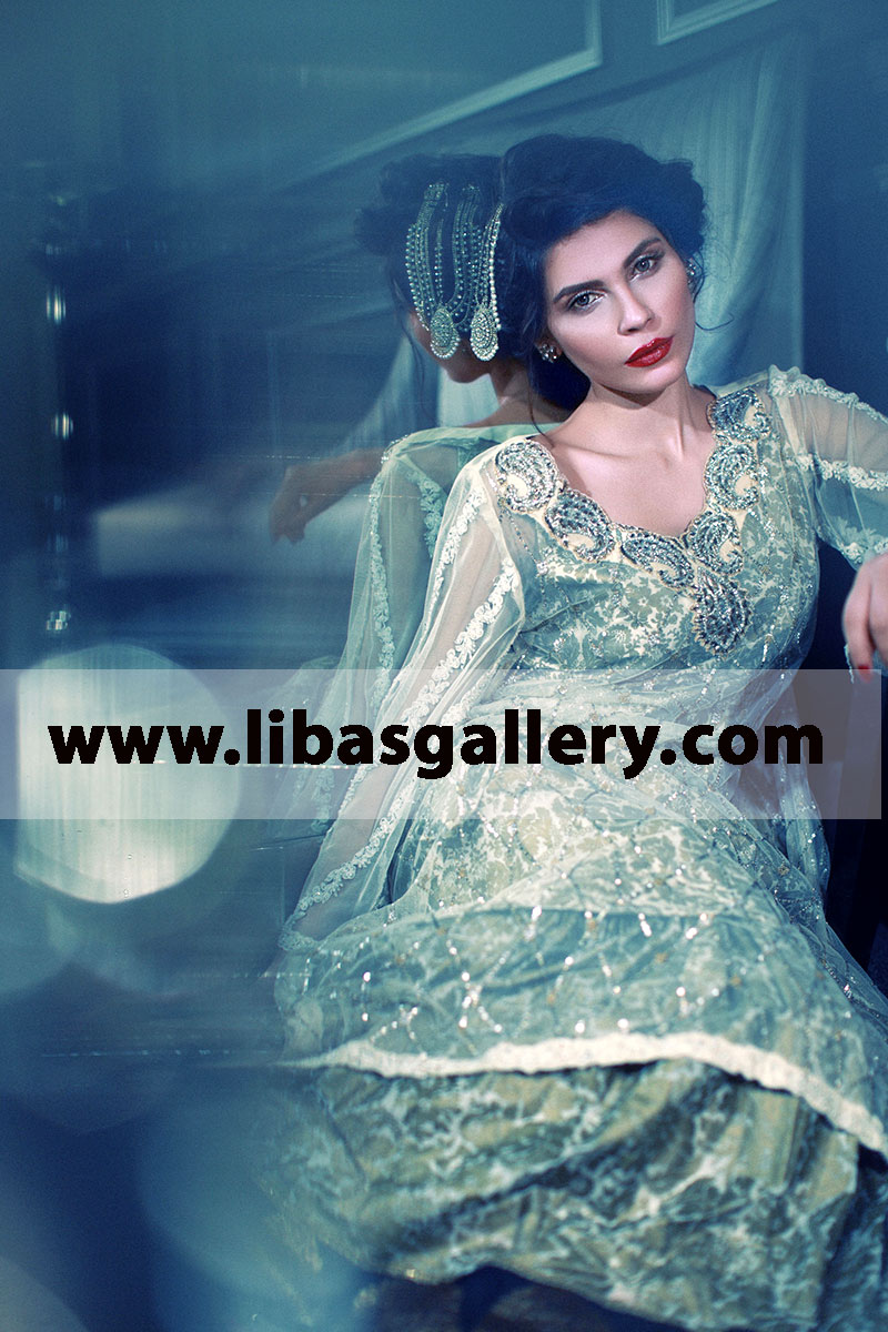 Tena Durrani Dazzling Wedding Outfit For And Special Zainab Dress Rosewood New Arrival 7aug L